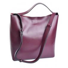 Женская сумка кожа Parse №889 бордовый