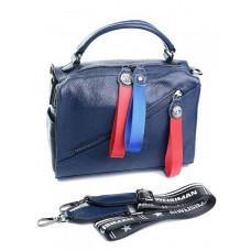 Женская сумка из кожи Parse №89008 синий