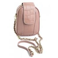 Женский клатч кожаный Parse 89075 Pink