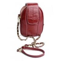 Кожаный женский клатч Parse 89075 Red