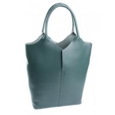 Кожаная сумка женская Parse №891 зеленый