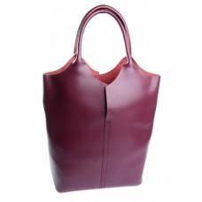 Женская сумка из натуральной кожи Parse №891 бордовый