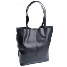 Женская кожаная сумка Parse №895 черный
