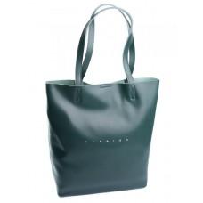 Кожаная женская сумка Parse №895 зеленый
