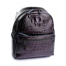 Кожаный рюкзак женский Parse №8980 Коричневый