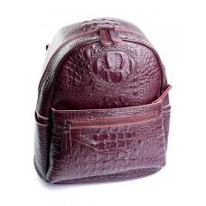 Женский рюкзак натуральная кожа Parse №8980 Красный