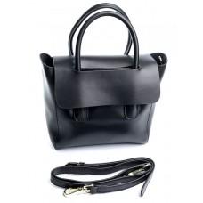 Женская сумка кожаная Parse №899 Черный