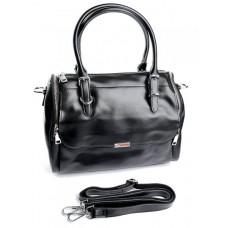 Женская сумка кожа Parse №9001G Черный