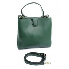 Женская сумка натуральная кожа Parse №902 Зеленый