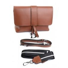 Женская сумка кожа Parse №905 Рыжий