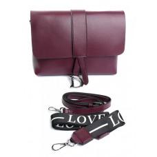 Женская сумка из натуральной кожи Parse №905 Бордовый