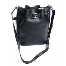 Женская сумка кожаная Parse №906 Черный