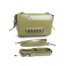 Кожаная женская сумка Parse №9345 Зеленый