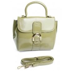 Кожаная сумка женская Parse №9346 Зеленый
