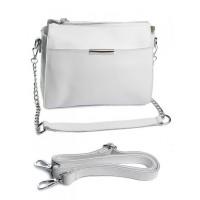 Женская сумка натуральная кожа Parse №A2040 White