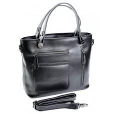 Женская сумка из кожи Parse №A2088 Черный