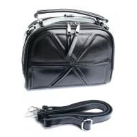 Женская сумка из кожи Parse №A2095 Black