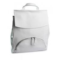 Рюкзак женский кожаный Parse №A5063 White