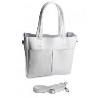 Кожаная женская сумка Parse №A5081 White