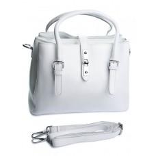 Женская сумка кожаная Parse №A5095 Белый