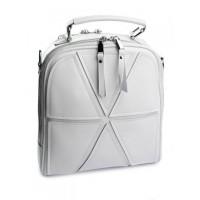 Женский кожаный рюкзак Parse №A7055-1 White