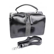 Женская сумка из натуральной кожи Parse №B6091 Черный
