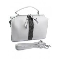 Женская сумка кожа Parse №B6091 White