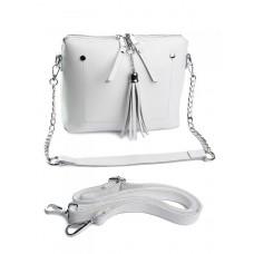 Женская сумка из кожи Parse №B7092 White