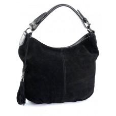Женская замшевая сумка Parse №CB-307 черный