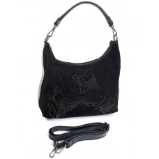 Замшевая сумка женская Parse №CB-846 черный
