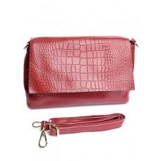 Кожаная сумка женская Parse №DZ-98340 Красный