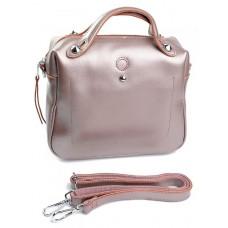 Женская сумка кожаная Parse №G-671-8 Розовый
