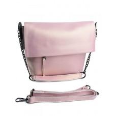 Женская сумка из натуральной кожи Parse №M-8322 Розовый