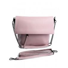 Женская сумка кожа Parse №M-8322 Розовый