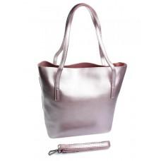Женская сумка кожаная Parse №MH-8601 Сиреневый