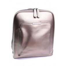 Женский рюкзак натуральная кожа №MH-8628 Бронза