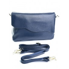 Женская кожаная сумочка Parse №NO-502 Синий
