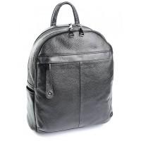 Женский рюкзак натуральная кожа Parse №SL-87012 Черный