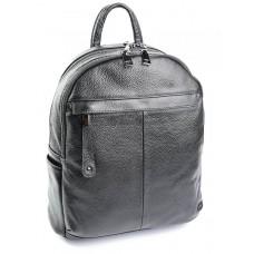 Женский рюкзак натуральная кожа №SL-87012 Черный