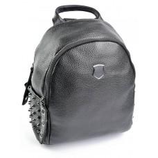 Женский рюкзак кожаный №SL-8856 Черный