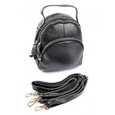 Женский рюкзак из кожи Parse №WY-311 черный