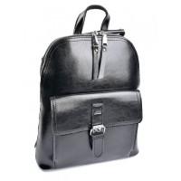 Женский рюкзак кожаный Parse №XG-6009 Black