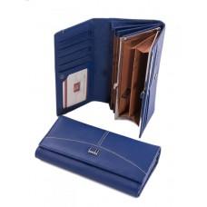 Женский кожаный кошелек Parse №A0001-C Синий