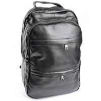 Кожаный рюкзак Parse №333 черный