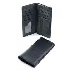 Мужское кожаное портмоне Parse №337-A Черный