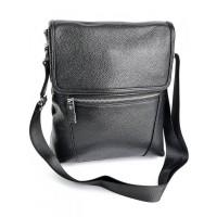 Мужская сумка из натуральной кожи Parse №SL-037 черный