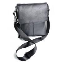 Мужская сумка кожаная Parse №SL-8871 Black