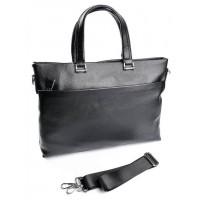 Мужской кожаный портфель Parse №SL-9156-1 черный
