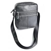 Мужская сумка кожаная Parse №W-125 черный