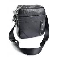 Кожаная сумка мужская Parse №W-127 черный